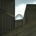 Glimpse of the London Eye