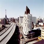 Nakagin Capsule Tower / Kisho Kurokawa. Image Courtesy of arcspace