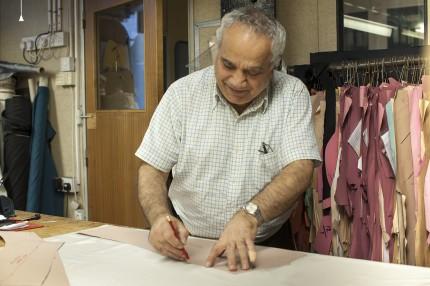 Ahmet at work