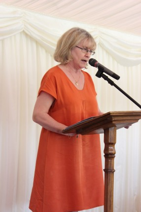 Baroness Bonham-Carter of Yarnbury at Eastside's 20th birthday