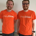 HeyDiner's Martin (left) and Chris (right)